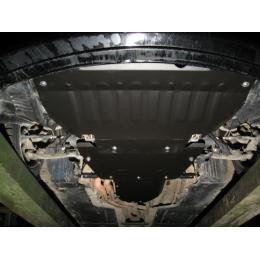 Защита картера двигателя для BMW 5 (Е60,Е61) 3 части