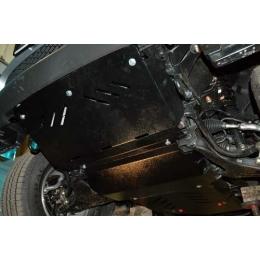 Защита картера двигателя для Land Rover Freelander II (4 части)