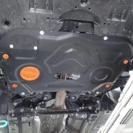 Защита картера двигателя и кпп для Toyota Camry- XV70,18-;для RAV4- XA50 V-2.0 CVT FWD;2.5 4WD,19-;для  Lexus ES 12-18,V-2.5;3.5,18-,V-2.0;2.5