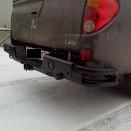 Бампер задний силовой  Комбо для Mitsubishi L200