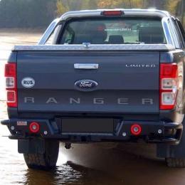 Бампер задний силовой Комбо для Ford Ranger NEW