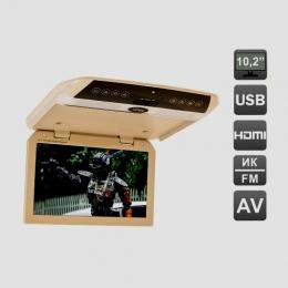 Автомобильный потолочный монитор 10,1 со встроенным FULL HD медиаплеером AVIS Electronics AVS1050MPP
