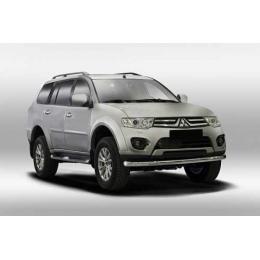 Защита переднего бампера Mitsubishi Pajero Sport 2014-   D 76,1