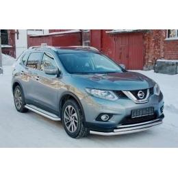 Защита переднего бампера Nissan X-Trail 2015- D 60,3