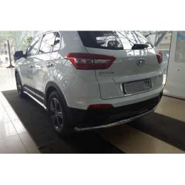 Защита порогов D 60,3 Hyundai Creta 2016-