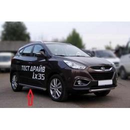 Защита порогов D 60,3 Hyundai IX-35 2010-
