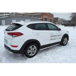 Защита порогов D 60,3 Hyundai Tucson 2015-