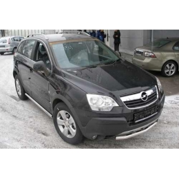 Защита порогов D 60,3 Opel  Antara 2012-