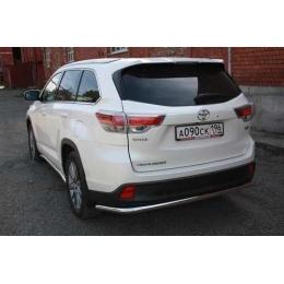 Защита задняя D 60,3 (длинная) для Toyota Highlander 2014-