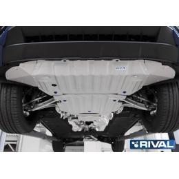Комплект защит Volkswagen Touareg 2018-