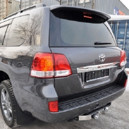 Фаркоп Toyota Land Cruiser 200 Baltex (2007-) крюк и накладка из нержавеющей стали