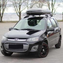 Автобокс на крышу автомобиля YUAGO Cosmo