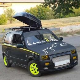 Автобокс на крышу автомобиля YUAGO Lite