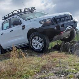 Бампер силовой передний AL для пикапа Ford Ranger 2011-2015, 2015-