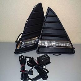 Дневные ходовые огни для Ford Focus 3 (2011-) горизонтальные