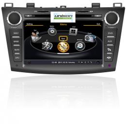 Штатное головное устройство для Mazda 3 (2009+) Мазда 3 Unison C034