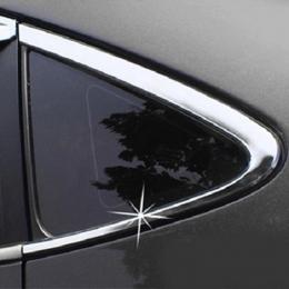 Накладка хромированная на заднюю форточку для Hyundai Tucson  (2010 -)
