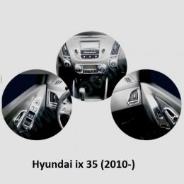 Накладки интерьера хромированные для Hyundai ix 35 (2010-)