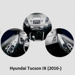 Накладки интерьера хромированные для Hyundai Tucson IX (2010-)