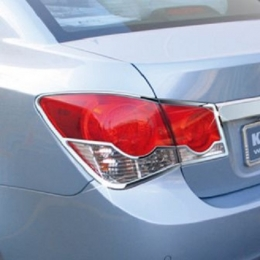 Накладки хромированные задних фар для Chevrolet Cruze (2011-)