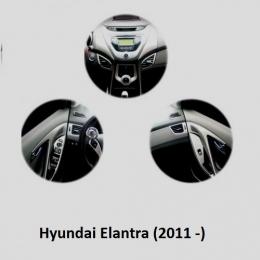Накладки хромированные интерьера комплект  для Hyundai Elantra (2011 -)