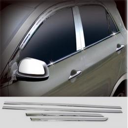 Накладки хромированные боковых стекол нижние для Kia Picanto (2011-)
