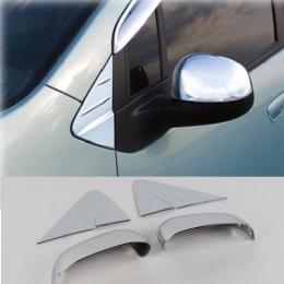 Накладки хромированные на зеркала для Chevrolet Spark (2011-)