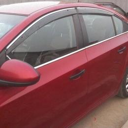 Накладки хромированные боковых окон нижние  для Chevrolet Cruze (2011-)