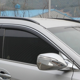 Накладки хромированные на зеркала (под ПП) для Hyundai Santa Fe DM (2012-)