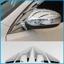 Накладки хромированные на стойку вокруг зеркала для Hyundai IX 35 (2010 -)