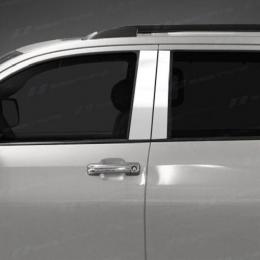 Накладки хромированные на средние стойки дверей для Hyundai IX 35 (2010-)