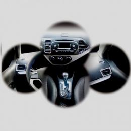 Накладки интерьера хромированные комплект для Kia Picanto (2011-)