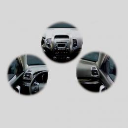 Накладки интерьера хромированные комплект для Kia Sorento (2009-2014)
