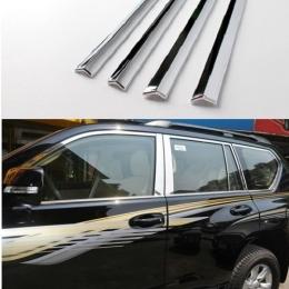 Накладки хромированные боковых стекол нижние для Kia Sorento (2009-2014)