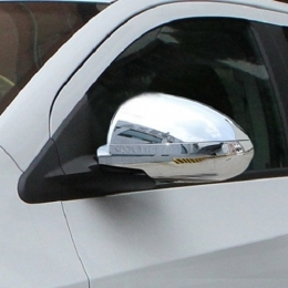 Накладки хромированные на зеркала (под ПП) для Hyundai I 30 (2012-)