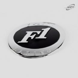 Накладка хромированная на крышку топливного бака для Hyundai Santa Fe (2006 -2010)