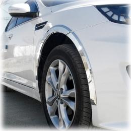 Накладки хромированные колесных арок  для Kia Optima (2010-)