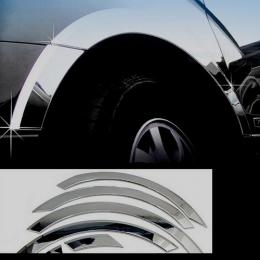 Накладки хромированные колесных арок для Hyundai Sonata YF (2010 - 2013)