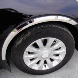 Накладки хромированные колесных арок для Hyundai Sonata NF (2005 - 2009)