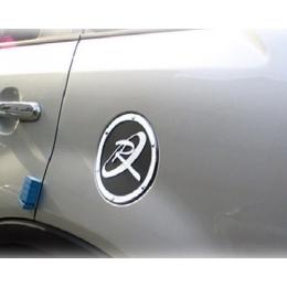 Накладка хромированная крышки топливного бака для Kia Sorento (2009-2014)