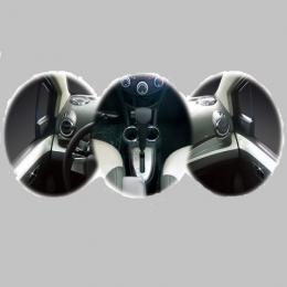 Накладки интерьера хромированные комплект для Chevrolet Spark (2011-)