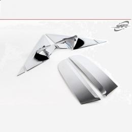 Накладки хромированные на переднюю и заднюю стойки для Kia Sportage (2010-)
