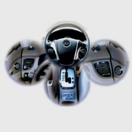 Накладки интерьера хромированные комплект для Kia Sportage (2004-2009)