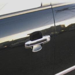 Накладки хромированные на ручки дверей для Hyundai Sonata NF (2005 - 2009)