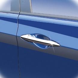 Накладки хромированные на дверные ручки для Hyundai IX 35 (2010-)