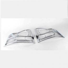 Накладки хромированные задних фар для Ssang Yong Actyon I (2008-2011)