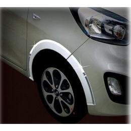 Накладки хромированные колесных арок  для Kia Picanto (2011-)