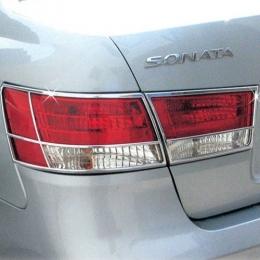 Накладки хромированные на задние фары для Sonata NF (2005-2009)