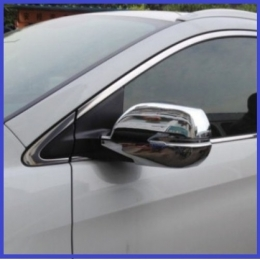 Накладки хромированные на зеркала HONDA CR-V (2012-)