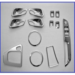 Накладки хромированные интерьера комплект для BMW 3 (E90) (2005-2012)